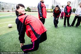 Amateur Chinese Women Soccer