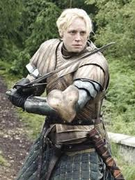 Brienne of Tarth in Armor